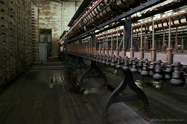 machinery in the Klotz Throwing Mill