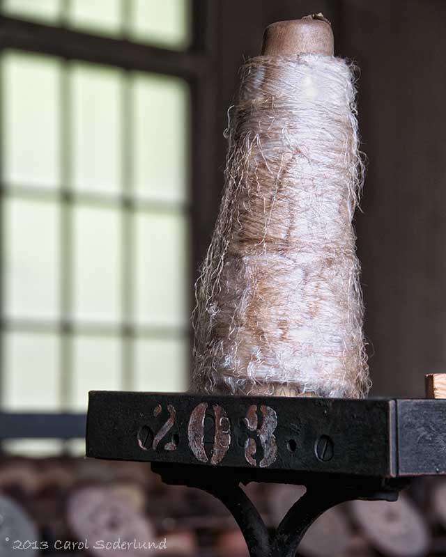 old silk thread at Lonaconing
