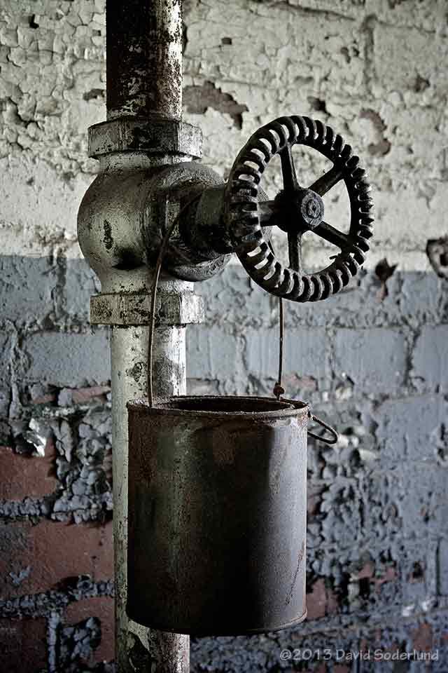 A leaky valve