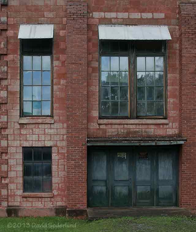 Lonaconing Silk Mill Facade