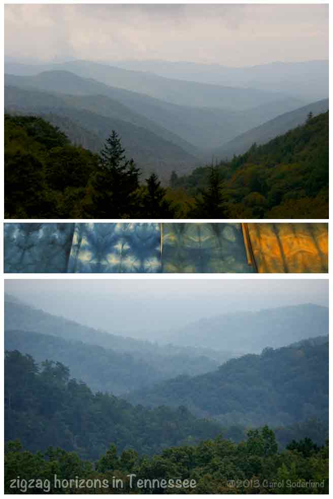 Misty views from the Great Smokies