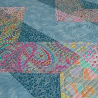 quilting on zig zags