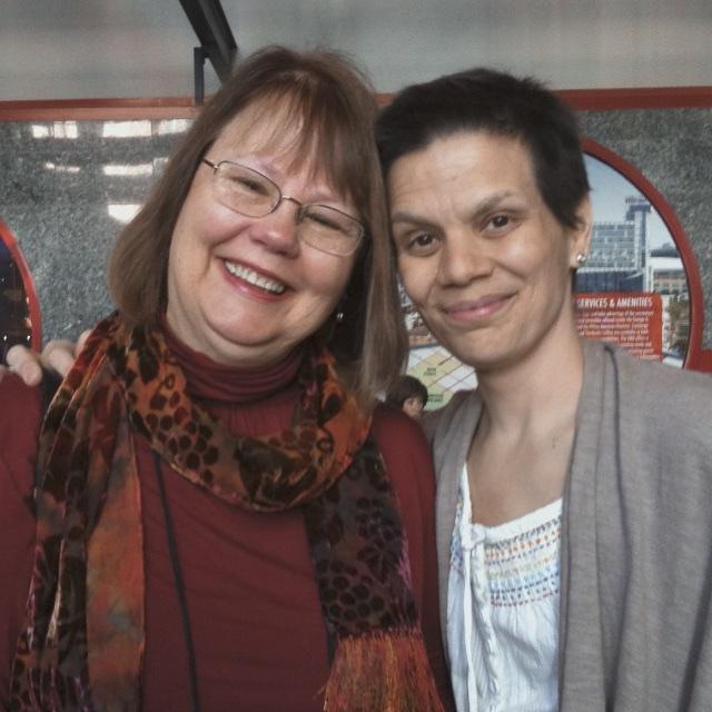 Carol Soderlund and Melanie Testa
