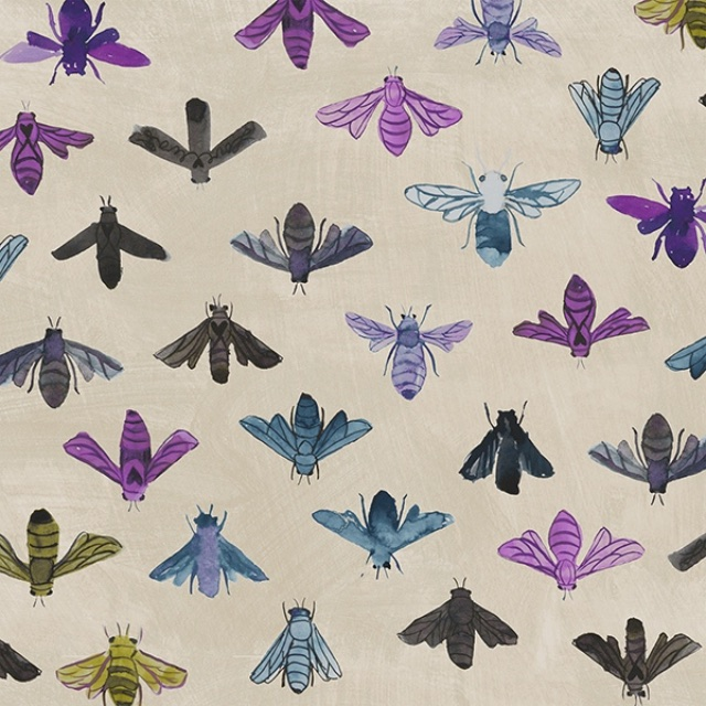 Fabric from Carrie Bloomston's Dreamer Line