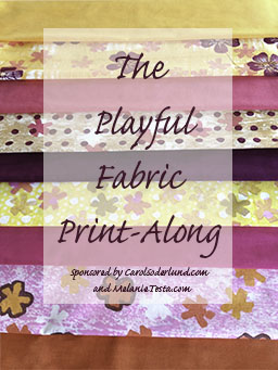 The Playful Fabric Print-Along