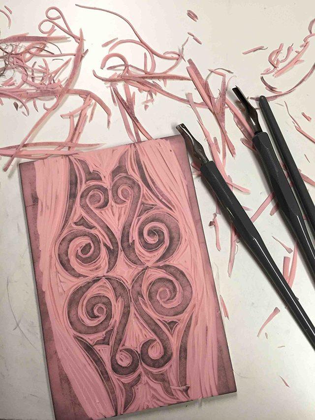 Carved Koru