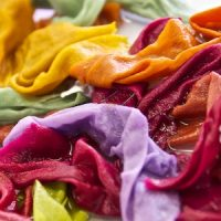 luscious colors on silk